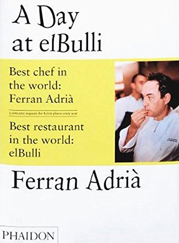 A Day at El Bulli (Best Spanish Restaurants In Chicago)