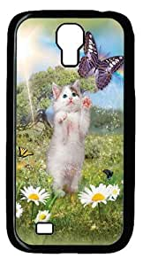Cool Painting Kittys Dreamland Polycarbonate Hard Case Cover for SamSung Galaxy S5 I9600 (picture is Galaxy S4£©