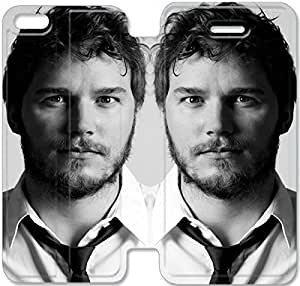 5c Cover,[Pu Leather Cover] Chris Pratt Theme New iPhone 5c Case Cover KA4037