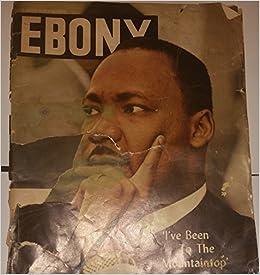 Ebony Magazine May, 1968 Dr. Martin Luther King, Jr. 1929-1968: N/A: Amazon.com: Books