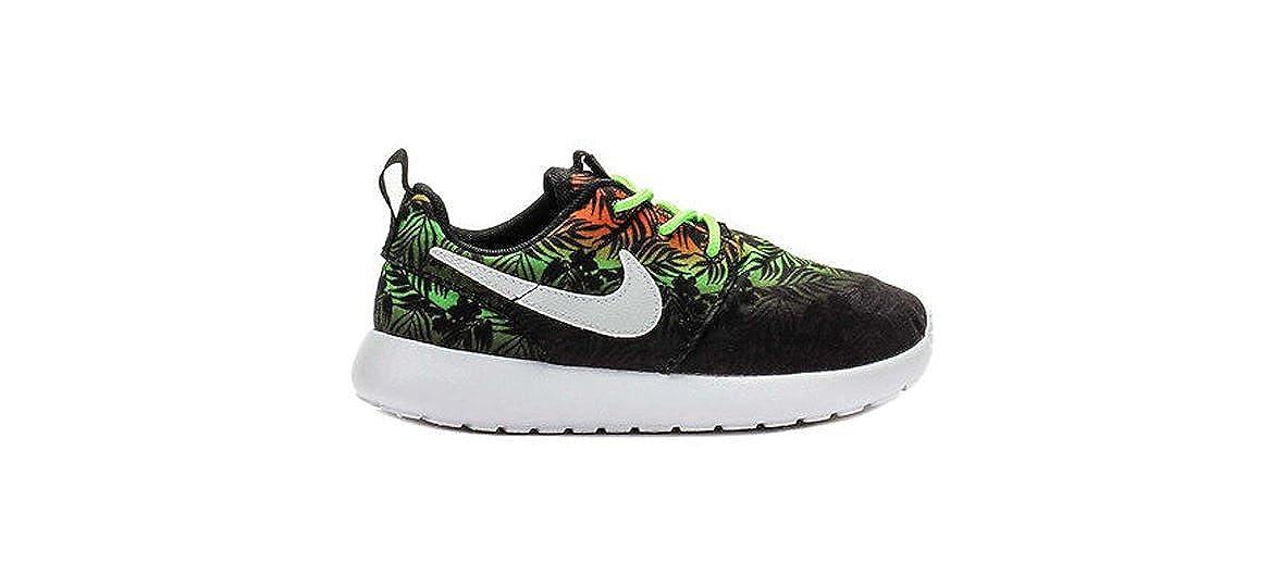 innovative design 67505 83d22 Amazon.com   Nike Roshe Run Print Toddler s Running Shoes Sneakers (5 M US  Toddler, Total Orange Flash Lime Black White)   Sneakers