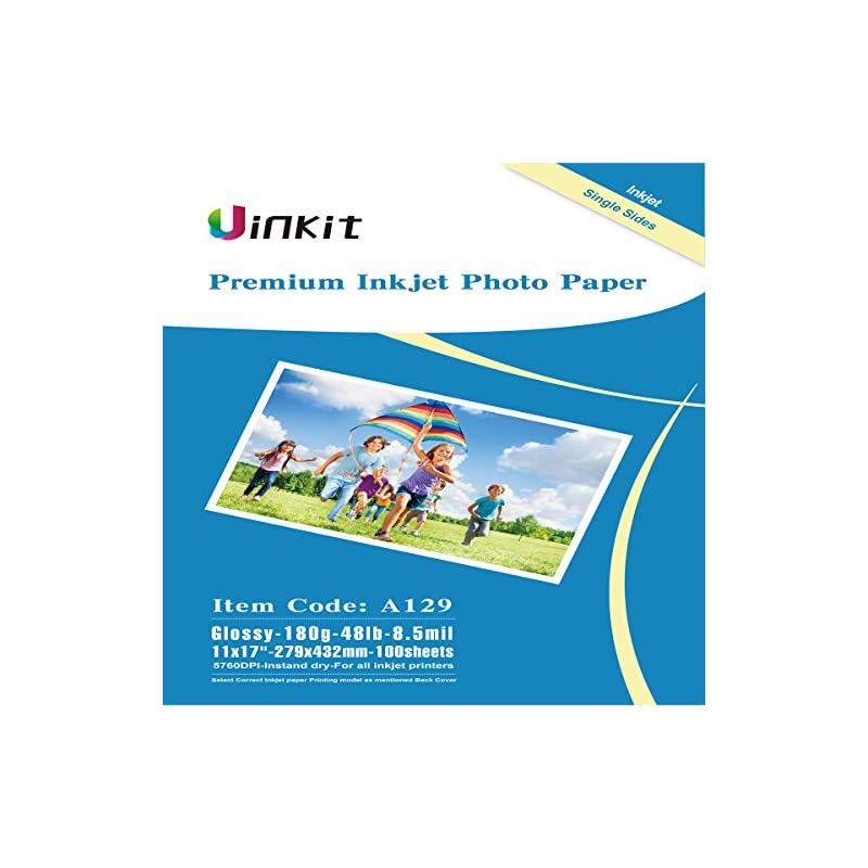 Glossy Photo Paper 11x17 Inches - Uinkit