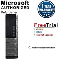 2018 Dell Optiplex 7010 Desktop Computer (Intel Core i5-3470 3.2GHz Up To 3.6GHz,16GB DDR3 RAM,2TB,DVD-ROM,Windows 7 Pro 64-Bit) (Certified Refurbished)