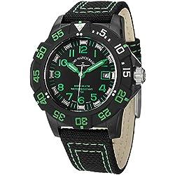 Zeno Men's 6709-515Q-A18 Divers Analog Display Quartz Black Watch