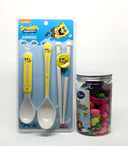 New Pop Art Snap Beads 100pcs with Baby Scoop and Tong Training Set Can play Together