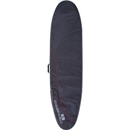 Amazon Com Ocean And Earth Aircon Black Red Longboard Surfboard
