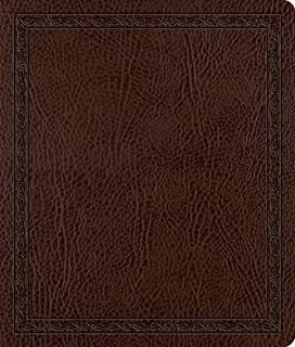 The Holy Bible ESV English Standard Version Journaling Bible: ESV Journaling Bible Mocha,Bonded Leather,Threshold Design (1433502348) | Amazon Products