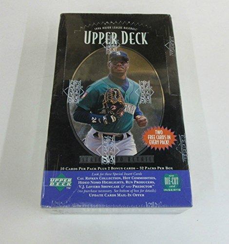 1996 Upper Deck Baseball Series 2 Box (Retail) - Deck 12 Upper