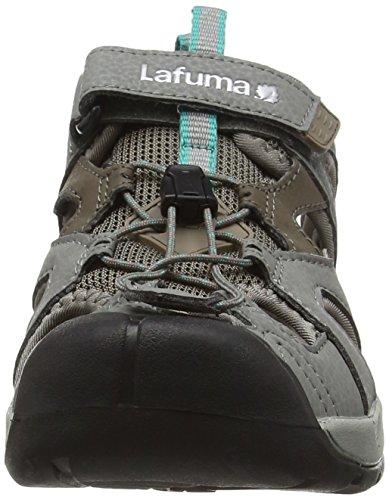 Lafuma Ld Kempi, Zapatillas de Deporte Exterior para Mujer Multicolor - Multicolore (Mercury Grey/Dynastygreen)