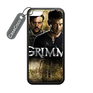 CASECOCO(TM) iPhone 5c Case, Favorite US TV Grimm Case for iPhone 5c - Protective Hard Back / Black Rubber Sides