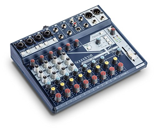 Soundcraft Notepad-12FX Small-format Analog Mixing Console with USB I/O and Lexicon Effects by Soundcraft