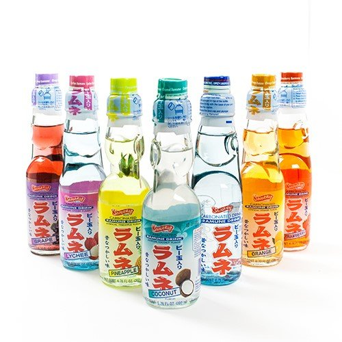 Amazon.com : Shirakiku Ramune Carbonated Soft Drink Soda ...