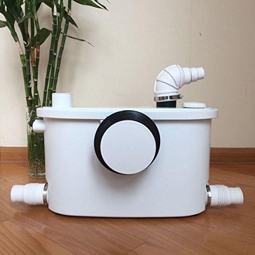 INTELFLO FLO400 Toilet Macerating Pump Macerator Pump White by INTELFLO