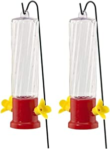 Garden Treasures Planter Hummingbird Feeder - 2 pack