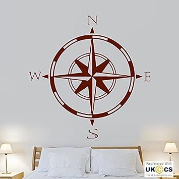 Kompass Reisen Richtung Kuhle Schlafzimmer Living Wall Art Aufkleber