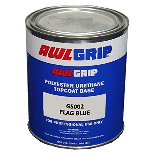 (Awlgrip Polyester Urethane Topcoat Base Paint Quart - G5002Q - Flag Blue)