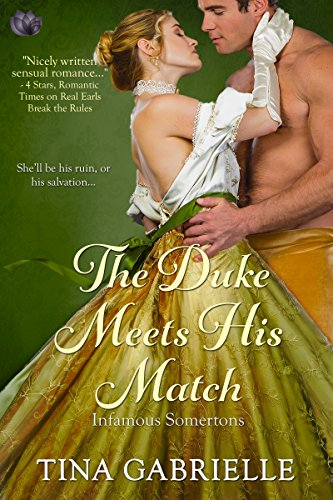 The Duke Meets His Match (Infamous Somertons) cover