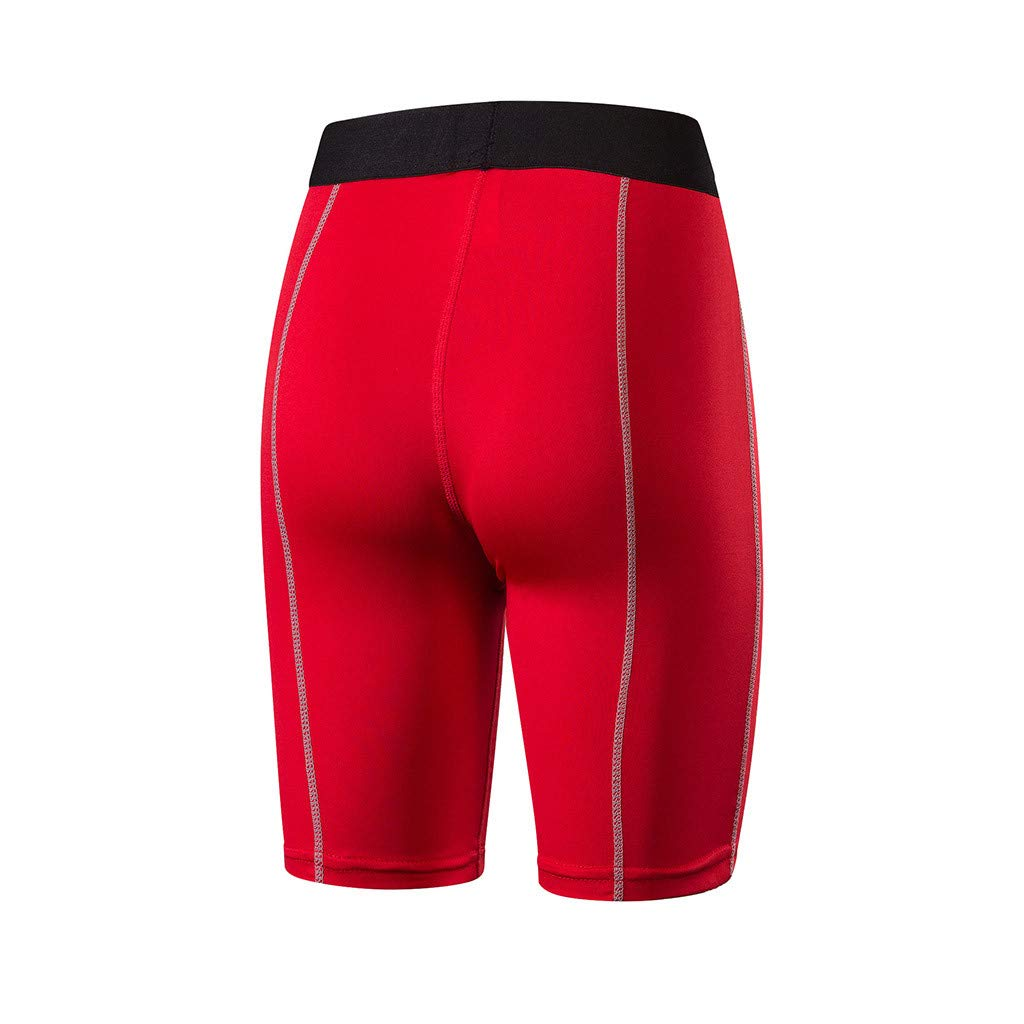 UONQD Yoga Shorts Running Shorts Workout Fitness Active Wicking Tummy Control Pants