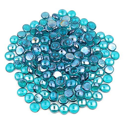 Gemnique Glass Gems - Teal Luster (48 oz.) (Teal Glass)