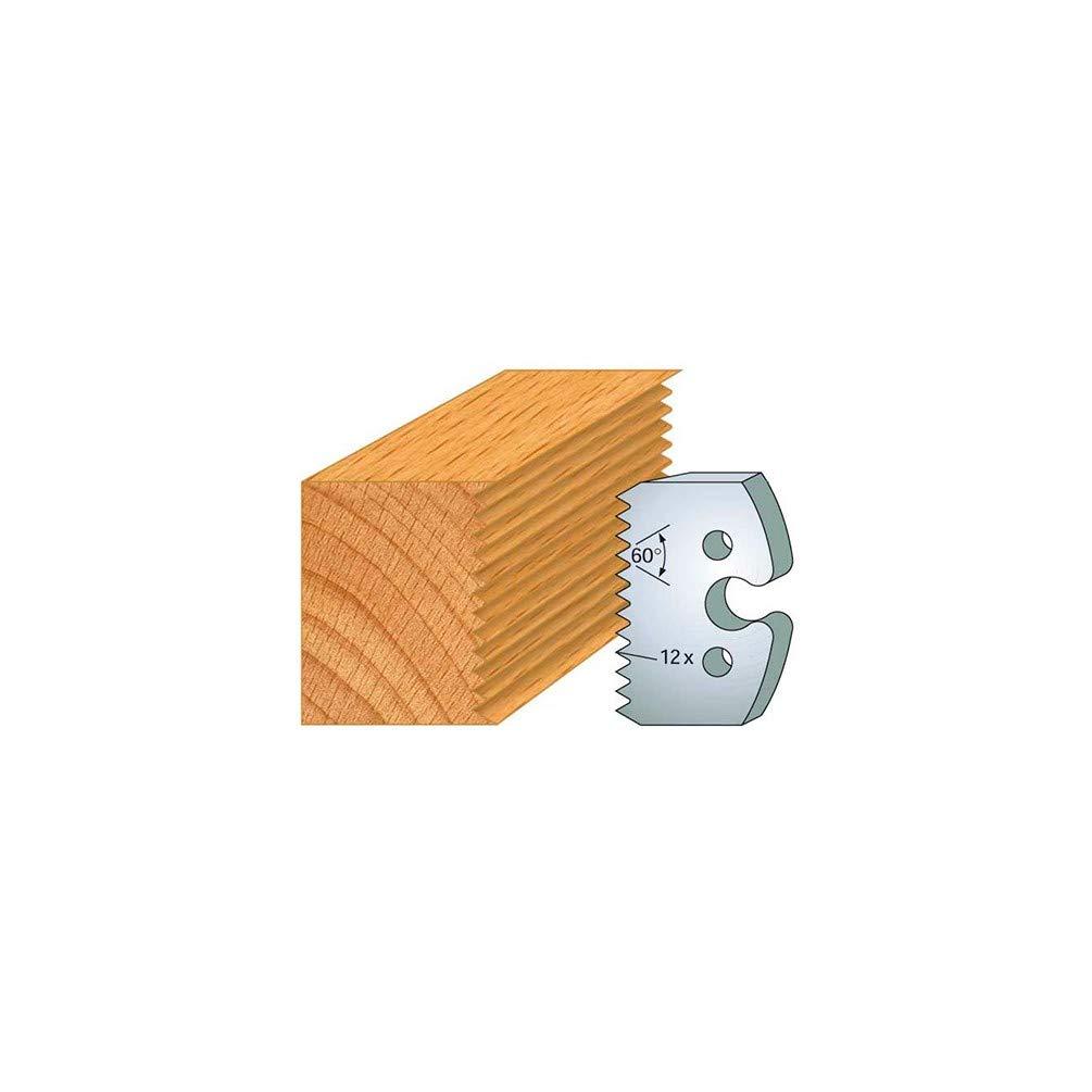 Fers de Toupie 2 Trous diam/ètre 6 mm entraxe 24 mm Hauteur 50 mm /Épaisseur 5,50 mm