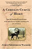 A Certain Curve of Horn: The Hundred-Year Quest for the Giant Sable Antelope of Angola