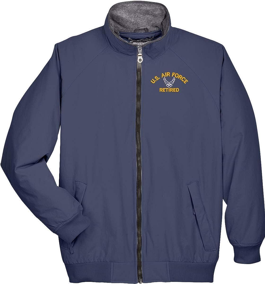 Air Force Hap Arnold Wings Retired Devon and Jones 3 Season Jacket U.S