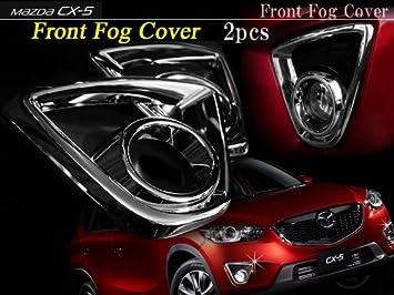 Mazda CX-5 accesorios cromado delantero antiniebla Covers Set: Amazon.es: Coche y moto