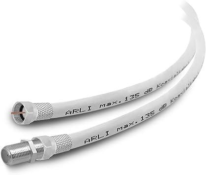 Cable alargador HD 7 m, cable de antena 4K ARLI