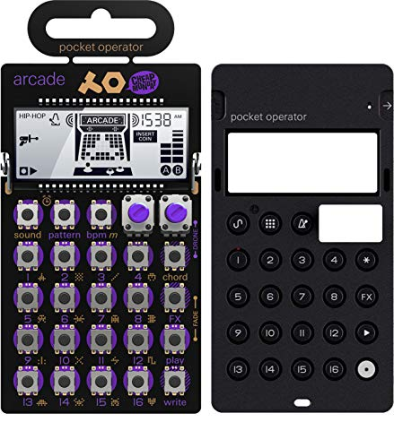 Teenage Engineering TE010AS020 PO-20 Arcade Pocket Operator Battery-powered Arcade Synthesizer with Silicone Pro Case