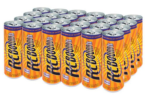 Rebound FX Sports / Energy Drink Cans (24 count)