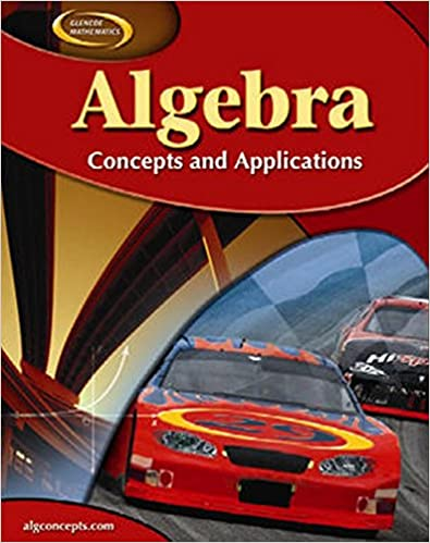 Algebra: Concepts and Applications, Student Edition (ALGEBRA: CONC ...