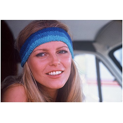 (Cheryl Ladd 8x10 Photo Charlie's Angels Millennium Poison Ivy Headshot Wearing Blue Headband kn )