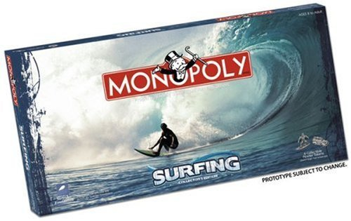 Usaopoly Surfing Monopoly