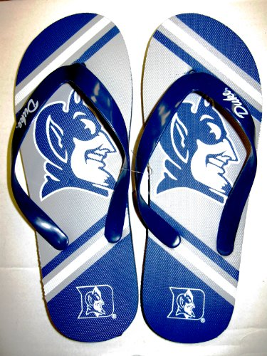 DUKE 2013 UNISEX BIG LOGO FLIP FLOP (Large) ()