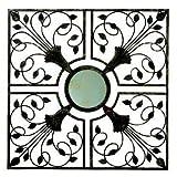 Gardman 8405 Moorish Mirror Wall Art, Antique Rust