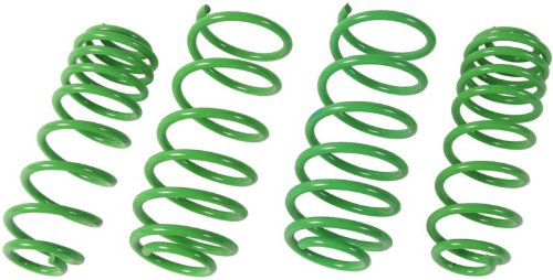ST Suspension 65210 Sport-tech Lowering Spring for BMW E30 Sedan and Coupe, (Set of 4) (Bmw E30 325 Coupe)