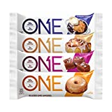 Oh Yeah! One Bar, NEW Compliant Variety Pack, 2.12 oz/12 bars (3 Cinnamon Roll, 3 Salted Caramel, 3 Maple Glazed Doughnut, 3 Blueberry Cobbler)