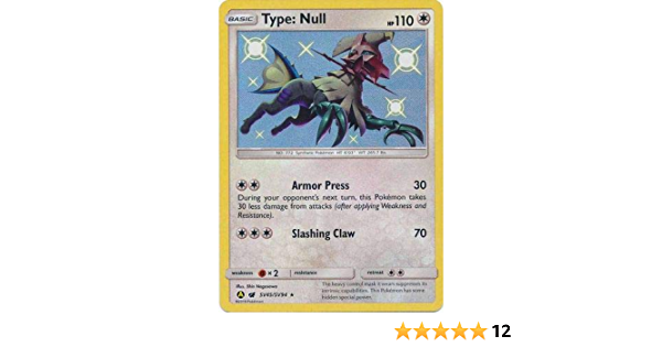 Pokemon Type:Null SV45//SV94 Hidden Fates Vault Secret Rare