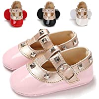 Baby Girls Princess Mary Jane Shoes Infant First Walker Shoes