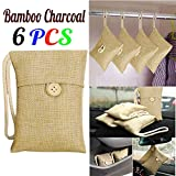 Charcoal Charcoal LtrottedJ 6pcs Bag Car Bamboo Charcoal Activated Carbon Air Freshener Odor Deodorant New