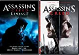Video Game Assassin's Creed Movie Set & Assassin's Creed Lineage DVD Double Feature Bundle
