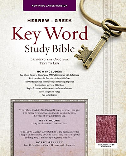 Top 10 hebrew and greek keyword study bible