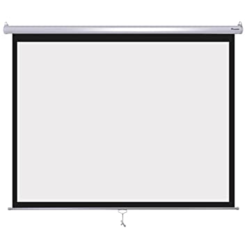 "Instahibit 120inches Diagonal 4:3 Manual Pull Down Projection Screen 96"" ..."