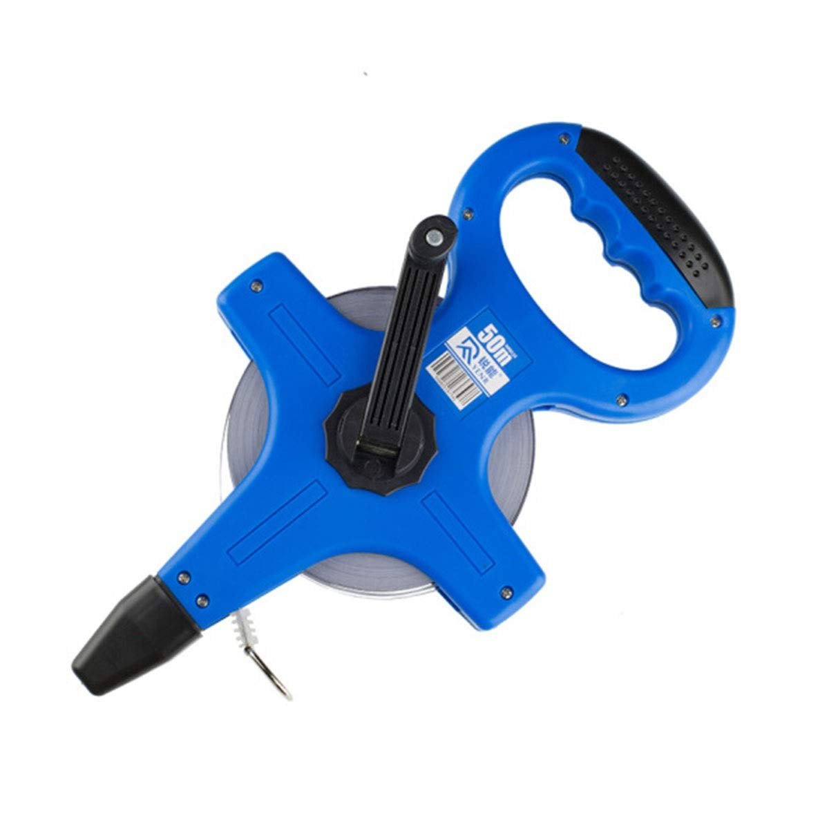 HXSD Steel Tape Measure, Frame Ruler 50m Portable Frame Steel Tape Measure, Long Tape Measure, Engineering Ruler Ruler Ruler Meter Ruler Decoration Measuring Ruler, 50M (Color : Blue, Size : 50m) by HXSD
