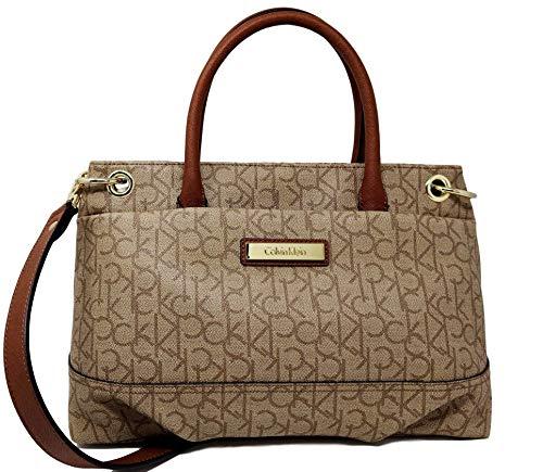 Handbag Satchel Klein Calvin Bag Logo Crossbody naBaWTqZ