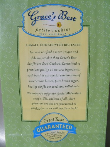 Grace's Best Sunflower Seed Cookies, 12 oz by GRACES BEST