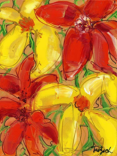 (Abstract Floral Four)