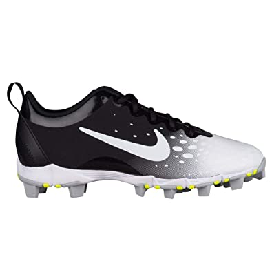 a8f8d1595e4 Nike Women s Hyperdiamond 2 Keystone Softball Cleat Black White Wolf Grey  Size 6.5 M