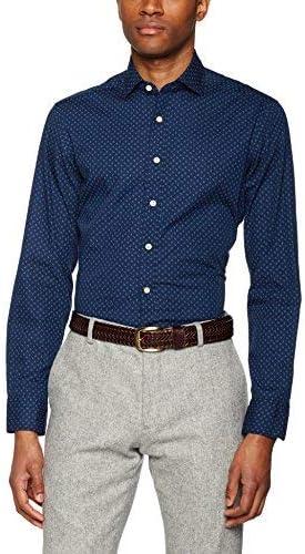 Hackett London Paisley Print Camisa, Azul (Blue 551), XXL para Hombre: Amazon.es: Ropa y accesorios