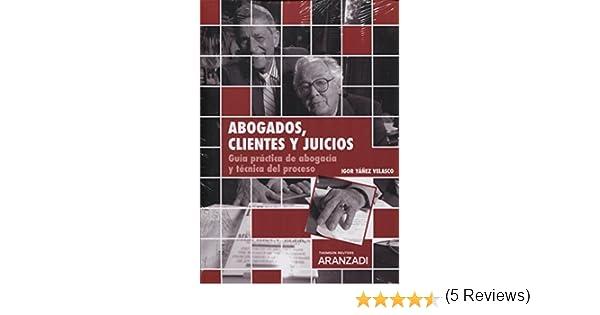 Abogados, clientes y juicios Papel + e-book : Guía práctica de ...